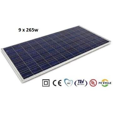 Gerador Energia Elétrica Isolado Híbrido 3000W - Freezer + Geladeira + TV + 15 Bicos de Luz + Ferramentas até 1500W
