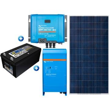 GERADOR DE ENERGIA OFF GRID  SOLAR  2000VA