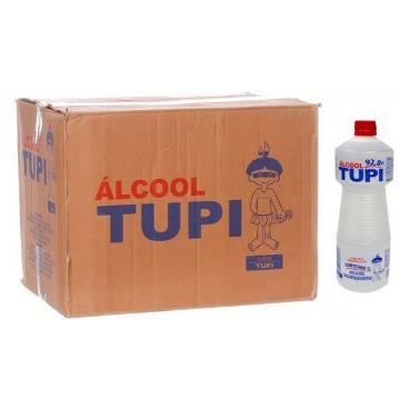 ALCOOL 92,8° TUPI 12 X 1000ML *