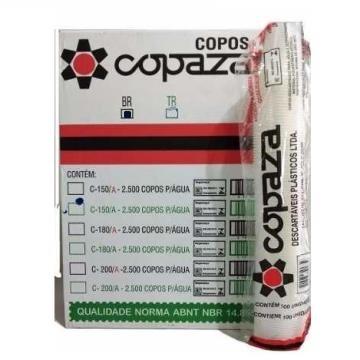 COPO 150 ML COPAZA BRANCO (25X100)