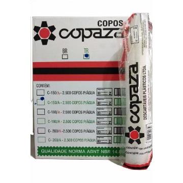 COPO 150 ML COPAZA TRANSPARENTE (25X100)