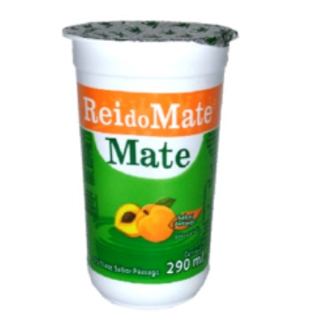 CHA MATE PESSEGO COPO REI DO MATE 12 X 290ML