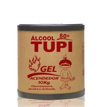 ALCOOL GEL 80° TUPI  BARRICA 10KG