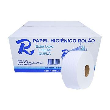 PAPEL HIGIENICO ROLAO LUXO ( 8 X 10 X 300) INDAIAL
