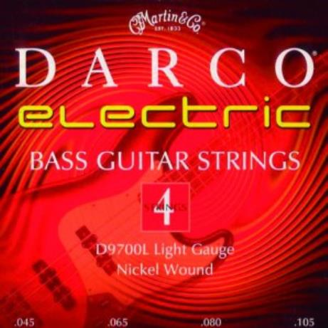 Encordoamento p/ Baixo Elétrico 4 Cordas (45) Darco