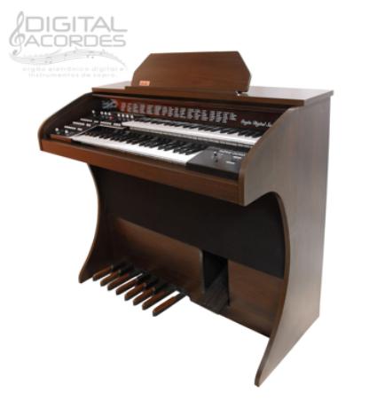 Órgão Eletrônico - Digital Acordes - Série Ouro Fosco