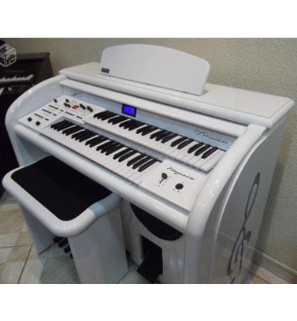 Órgão Eletrônico - Digital Acordes - Elegance Branco