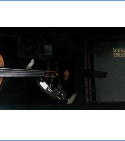 Case para Violino 4/4 Retangular - Kromus - Tradicional PBH