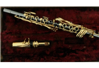 Clarinete de Metal - Hawkeye Alonzo Leach