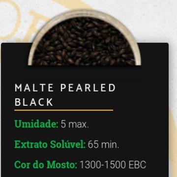 MalteTorrado SEM CASCA - Pearled Black 1300-1500 EBC - Viking