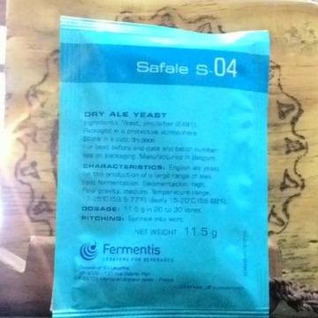 Fermento S-04 pct 11,5 gramas ALE