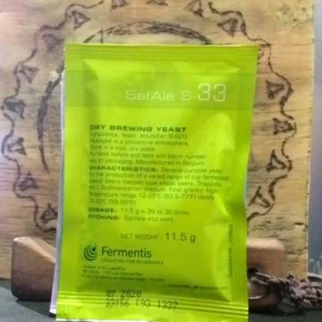 Fermento S-33 pct 11,5 gramas - ALE