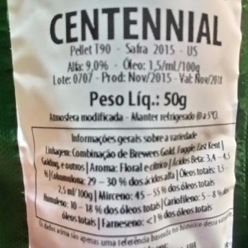 Lúpulo Centennial 8,80 aa - 50 g