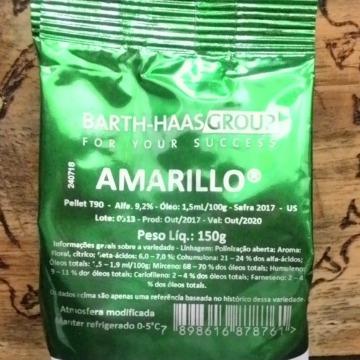 Lúpulo Amarillo PACOTÃO 150 gr - 2017