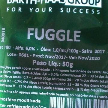 Lúpulo Fuggle 2017 6,0aa - 50 g
