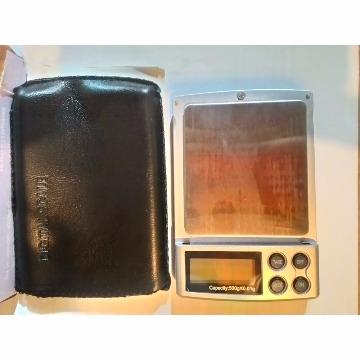 Balança Digital de Precisão - 0,1 a 500 gramas