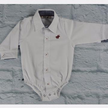 Body Camisa Polo Baby - Anjo Travesso - Cacio Moda Infantil Juvenil  Masculina e2b9120babc2c