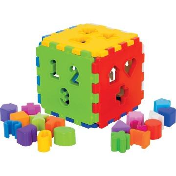 Cubo Didático Com Blocos