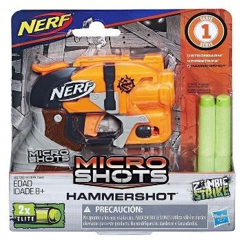Nerf Hammershot Microshots Zombie Strike