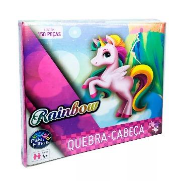 Quebra- Cabeça Rainbow 150 Peças
