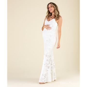 Vestido Renda Longo Ref. 1142