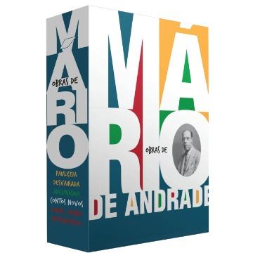 Box - Obras de Mário de Andrade - 4 Volumes
