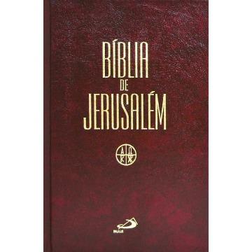 A Bíblia de Jerusalém Média - Encardenada