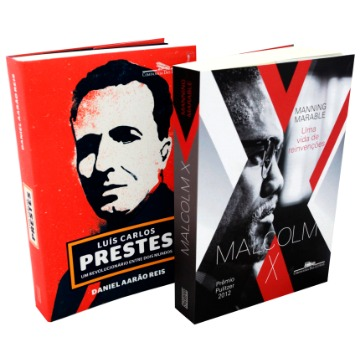 Box Luis Carlos Prestes + Malcolm X
