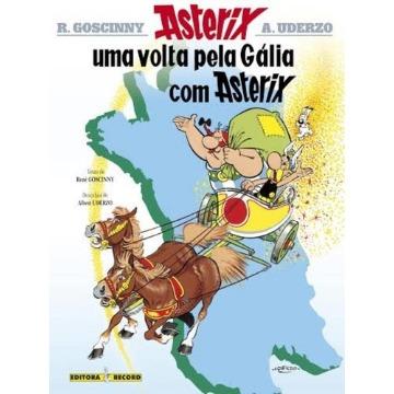 Asterix: UMA Volta Pela Galia com Asterix - Vol.5 - Coleção AS Aventuras de Asterix