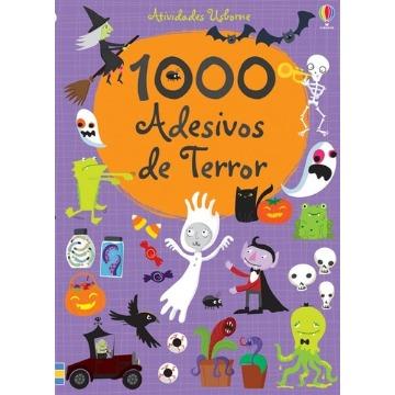 1000 ADESIVOS DE TERROR - Atividades Usborne