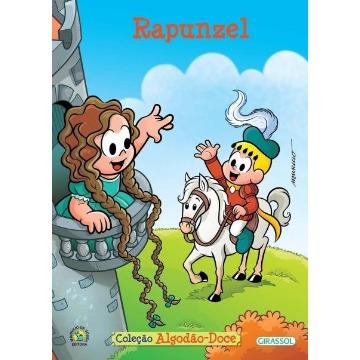 Turma da Mônica - Rapunzel - Col. Algodão Doce