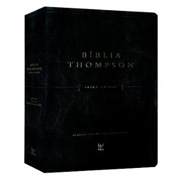 Bíblia Thompson - Aec - Letra Grande - Cp Luxo Pu C/ Índice