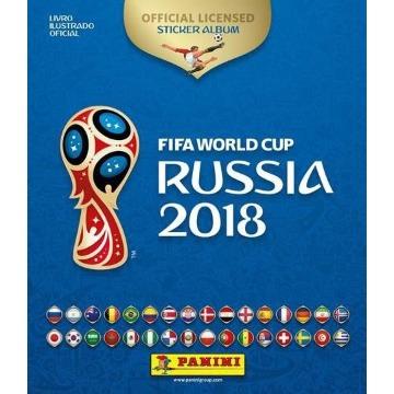 Álbum da Copa do Mundo Rússia 2018 - Capa Dura - 12 Envelopes = 60 Figurinhas