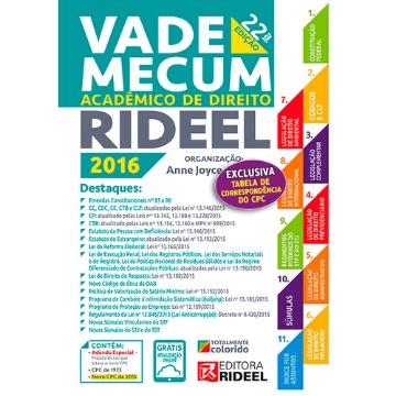 VADE MECUM ACADEMICO DE DIREITO