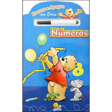 Números - Col. Escreva e Apague Com Bóris