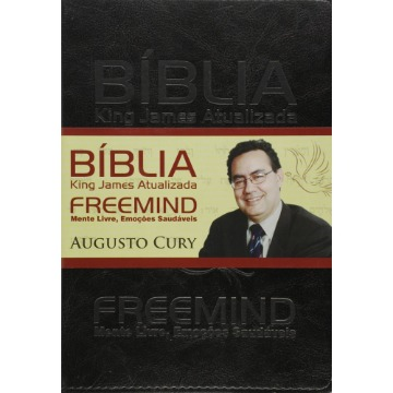 BIBLIA KING JAMES FREEMIND - CAPA PRETA - 1ª