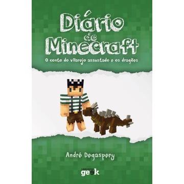 Diário de Minecraft - o Conto do Vilarejo Assustado e Os Dragões - Vol. 2