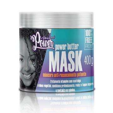 Mascara Soul Power Power Butter Antiressecamento 400gr