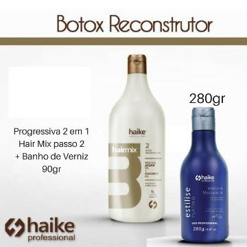 Haike Hair Mix Botox Sem Formol Passo 2 + Matizador