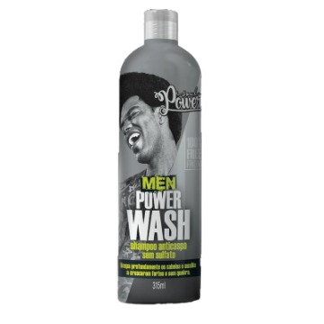 Shampoo Soul Power Men Wash Anticaspa 315ml