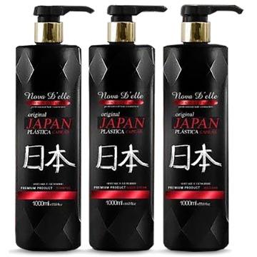 Nova Delle Plástica Dos Fios Japonesa 3 x 1 litro