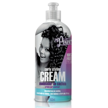Creme Soul Power Curly Styling Cream Creme para Pentear 500m