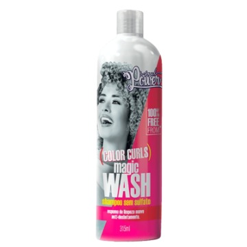 Shampoo Soul Power Color Curls Magic Wash Sem Sulfato 315ml
