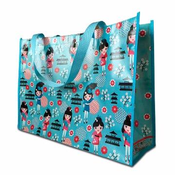 Ecobag Kokeshi azul