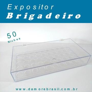 EXPOSITOR BRIGADEIRO COM 50 NICHOS FORMINHA Nº 4