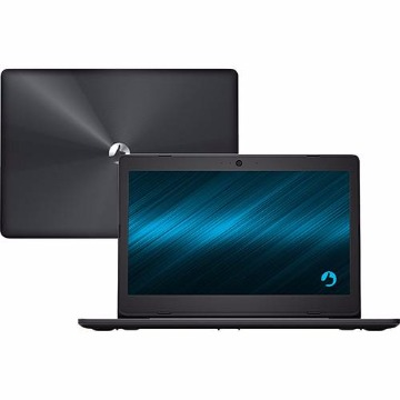 "Notebook Positivo Stilo XCI7660 Intel Core i3 4GB 1TB Tela LED 14"" Linux - Cinza Escuro"