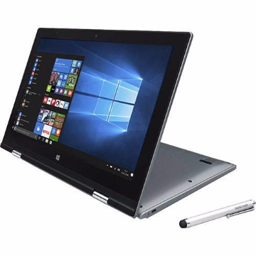 "Notebook 2 em 1 Positivo Duo ZR3630 Intel Celeron Dual Core 4GB 32GB Tela LCD 11.6"" Windows 10 - Cinza"
