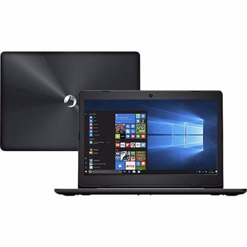 "Notebook Positivo Stilo XCI3650 Intel Celeron Dual Core 4GB 500GB 14"" Linux - Cinza"