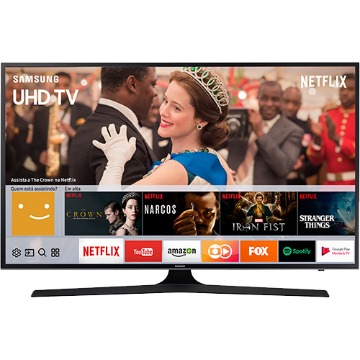 "Smart TV LED 49"" Samsung 49MU6100 UHD 4K HDR Premium com Conversor Digital 3 HDMI 2 USB 120Hz"