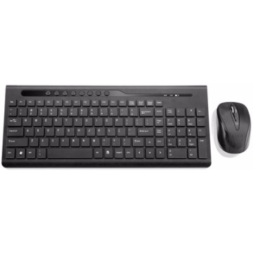 Multilaser Teclado e Mouse 2.4GHz USB Preto TC151.